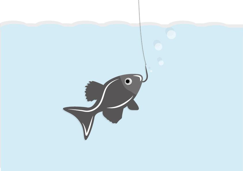 rybka na wędce
